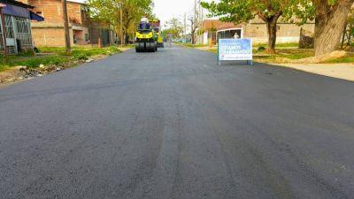 Lomas: aprovechan que hay menos circulación de vehículos para arreglar más calles