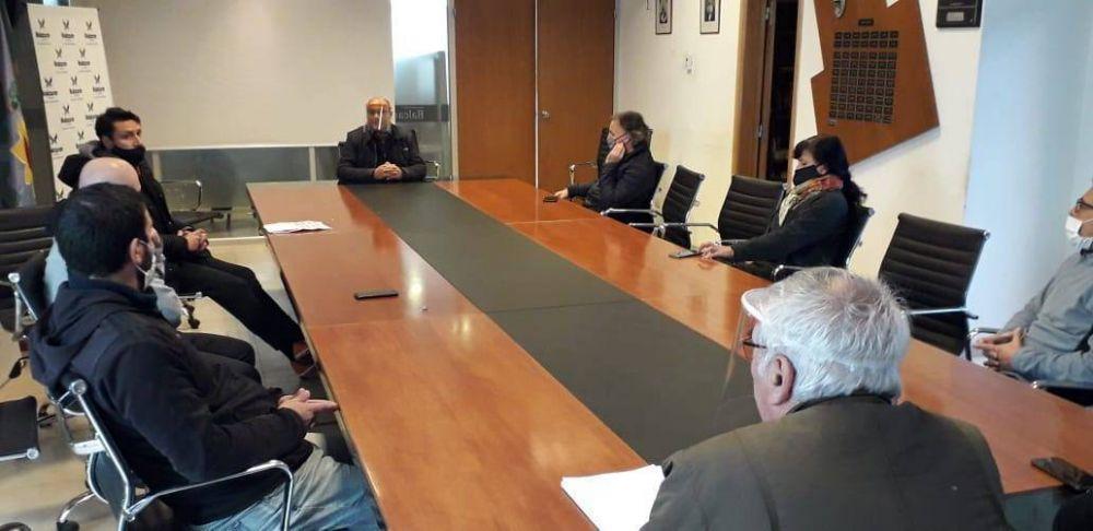 Balcarce: contundente apoyo del intendente a importante sector del distrito