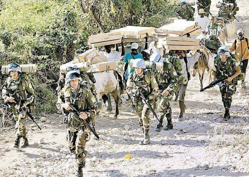 Haití: cae un avión militar uruguayo y hay 11 muertos