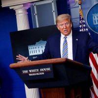 Trump anunció que Estados Unidos rompe relaciones con la OMS