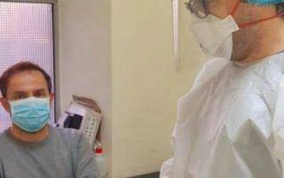 Intendente de Campana se sometió al test de coronavirus