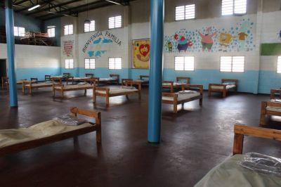 Instalan un centro de salud para aislamiento en la Unidad Penal N°39 de Ituzaingó