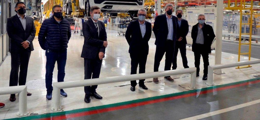 """Julio Zamora: """"Gracias al trabajo en conjunto entre Municipio, Provincia y Nación logramos reactivar la industria automotriz en Tigre"""""""