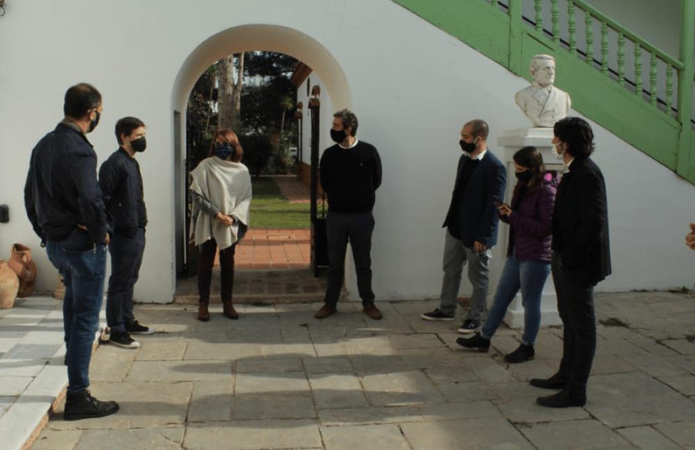 El Ministro de Producción, Ciencia e Innovación Tecnológica visitó Luján