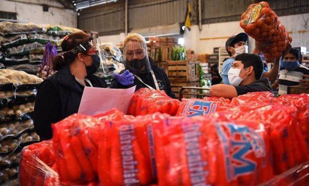 Extienden por otros siete días el cierre de los mercados de frutas y verduras