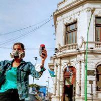 """Contaminación en Ensenada: En la puerta del municipio, denunciaron """"complicidad"""" entre Secco y COPETRO"""