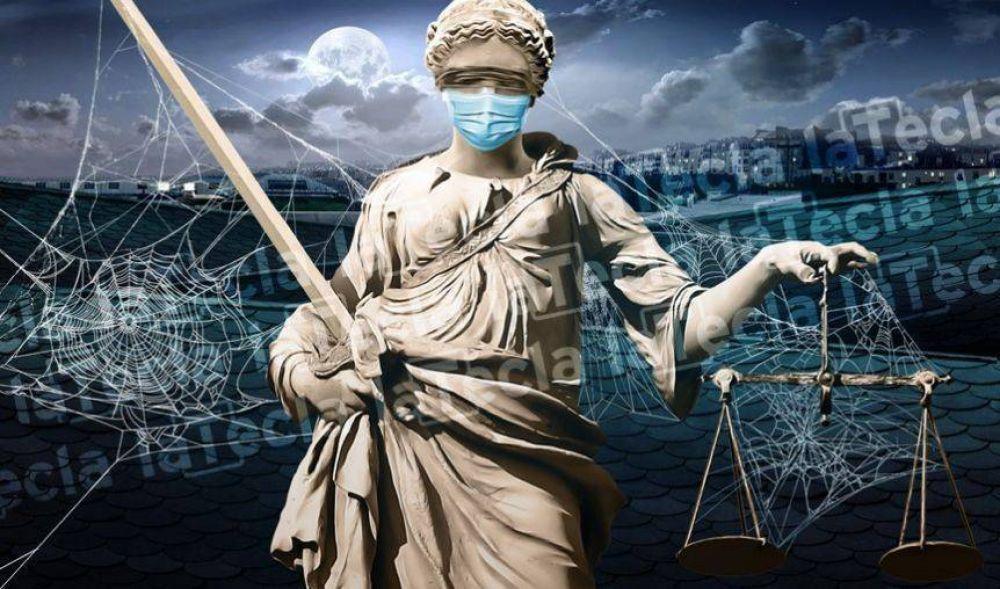 La Justicia rechazó la cautelar que presentó el Colegio de Abogados para volver a la actividad