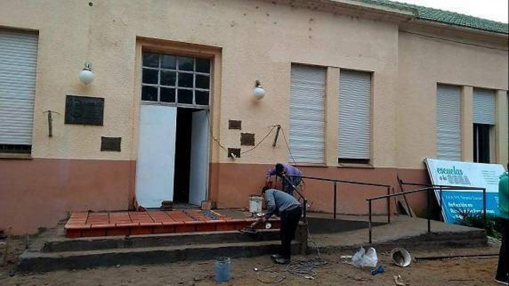 Obras en la escuela agraria: «Se recuperó la habilidad y volverá a producir alimentos»