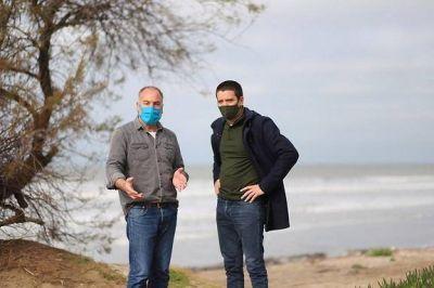 El Intendente Cristian Cardozo confirmó la realización de un mirador fotográfico natural en un nuevo espacio público de Santa Teresita