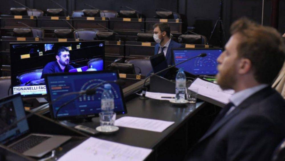 Madura en la Legislatura el proyecto para aumentar IIBB a bancos y financieras