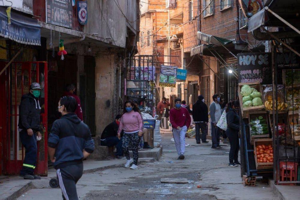 Coronavirus en la Argentina: la Ciudad confirmó que hay 187 nuevos enfermos en los barrios vulnerables y que el total llega a casi 4000