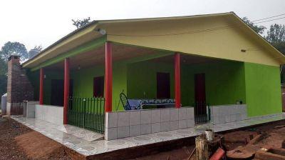 Concluyeron viviendas rurales para tabacaleros