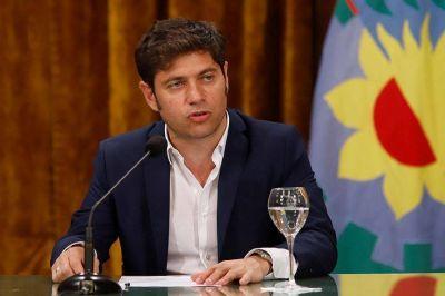 Kicillof desmiente a La Nación por los