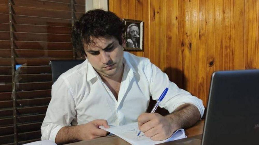 """Juan Miguel Gómez Parodi: """"Es fundamental que el poder legislativo de la Provincia esté trabajando en este contexto"""""""