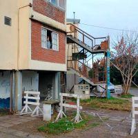 Derrumbe en el Centenario: apenas una solución provisoria