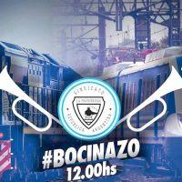 La Fraternidad: Bocinazo en reconocimiento a los trabajadores ferroviarios, una de tarea esencial