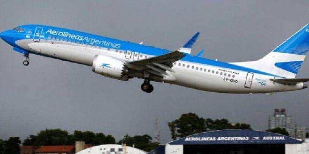 """Suspensiones en Aerolíneas Argentinas: en el sector temen un """"efecto contagio"""""""