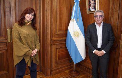 Julio Zamora se reunió con Cristina