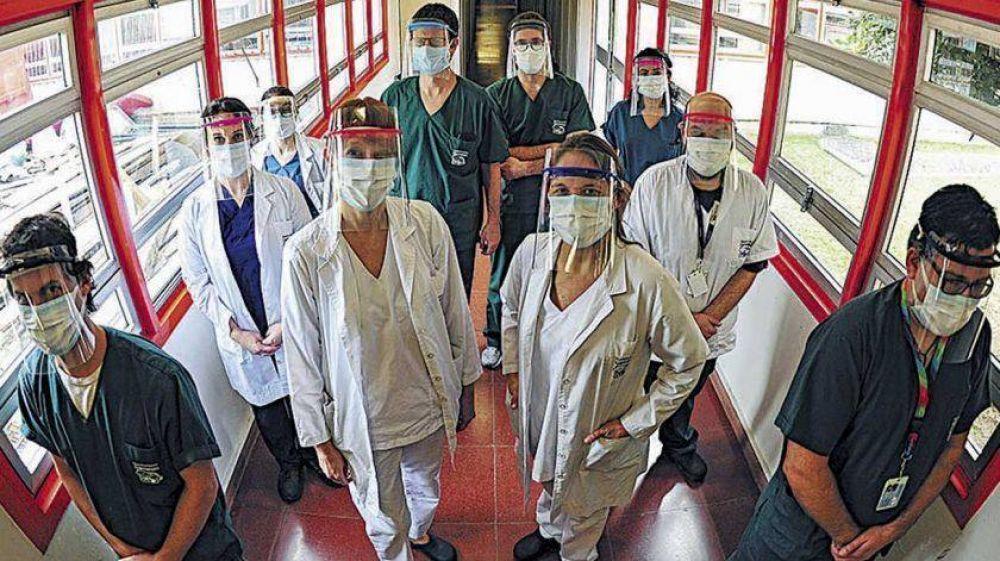 La oposición pide informes por el retraso en el pago del bono para personal de salud