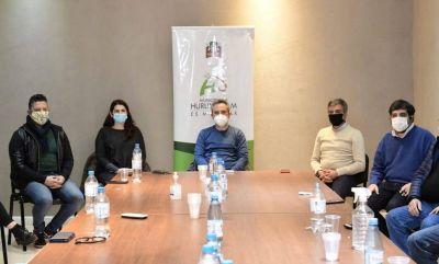 Larroque e intendentes se reunieron para reforzar las acciones frente a la emergencia sanitaria