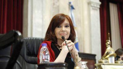 Cristina abre el Senado para garantizar los superpoderes de Cafiero