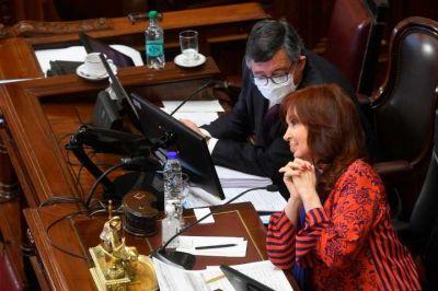 Cristina Kirchner convocó una nueva sesión para quitarle el manejo de las escuchas a la Corte Suprema