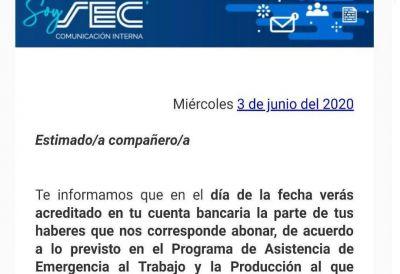 Cavalieri vuelve a pagar salarios con la ayuda del Estado