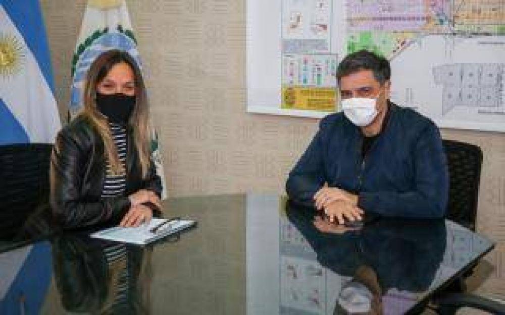 Galmarini tuvo un encuentro de trabajo con el Intendente Macri por obras de AySA en Vicente López