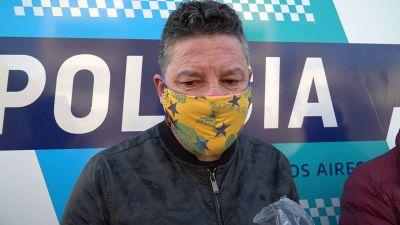 Gustavo Menéndez inauguró un nuevo puesto policial en San Antonio de Padua
