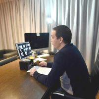 Andrés Watson, en la apertura formal del curso on-line de la Escuela de Emprendedores