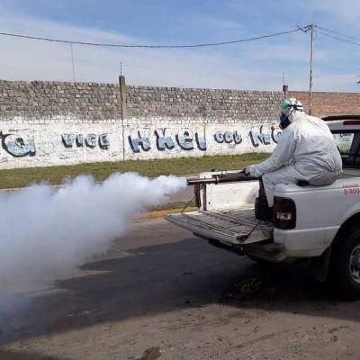 Cómo son los operativos de desinfección en Lomas para evitar la propagación del Coronavirus