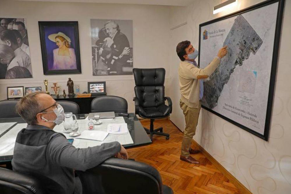 """Coronavirus: Espinoza y Valenzuela se reunieron para tratar problemáticas """"sin distinciones partidarias"""""""