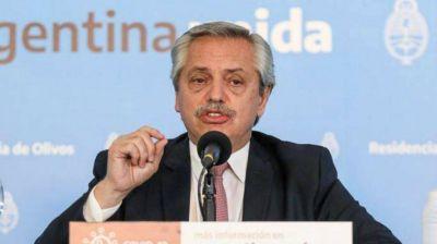 Fernández sobre el pago del medio aguinaldo: