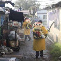 Desinfección en el Mercado Regional tras un caso positivo