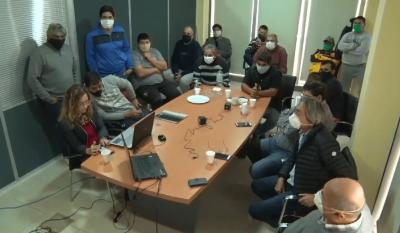 La audiencia se desarrolló a través de videoconferencia con supervisión de Trabajo
