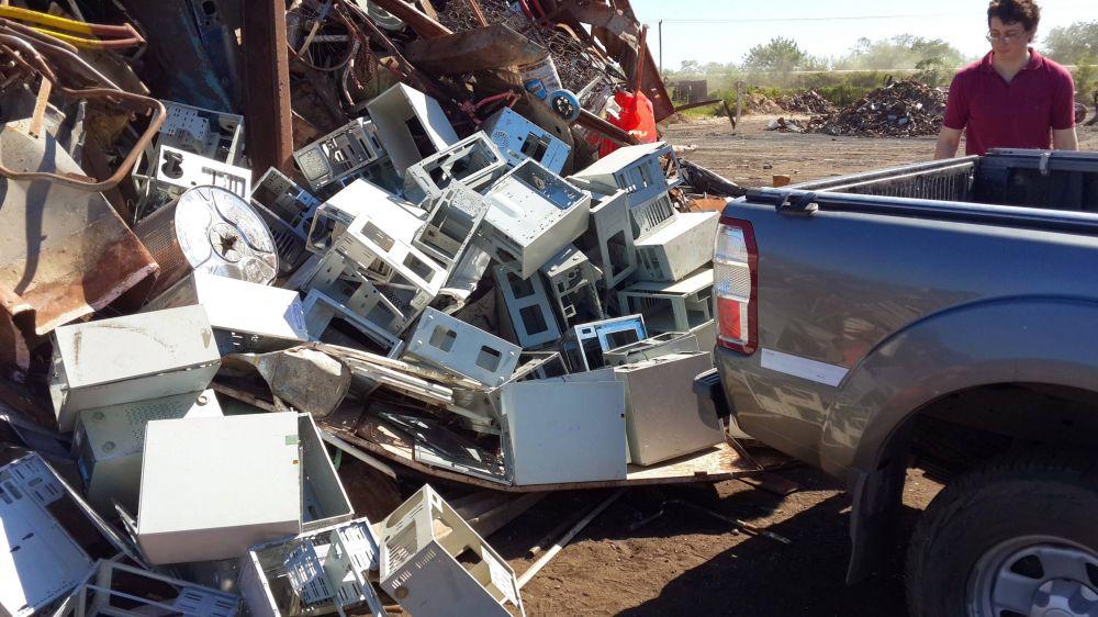 Basura electrónica: estudian un proyecto de reciclaje en la región