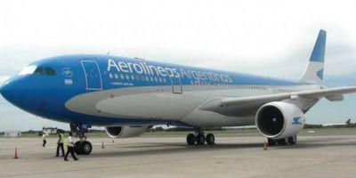No habrá recortes salariales en Aerolíneas Argentinas para los tripulantes de cabina suspendidos