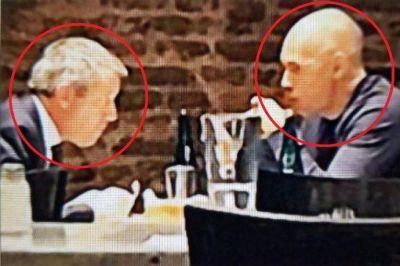 Espionaje M: la foto que revela el seguimiento de la AFI a Rodríguez Larreta y Monzó
