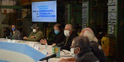 Gremios y organizaciones sociales consolidan un polo de oposición al pacto CGT-UIA