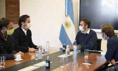 Achával se reunió con Neuspiller para analizar las medidas para combatir el coronavirus