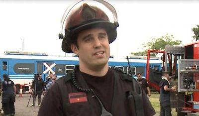 Piden que se declare ciudadano ilustre de Morón al bombero Ariel Vázquez