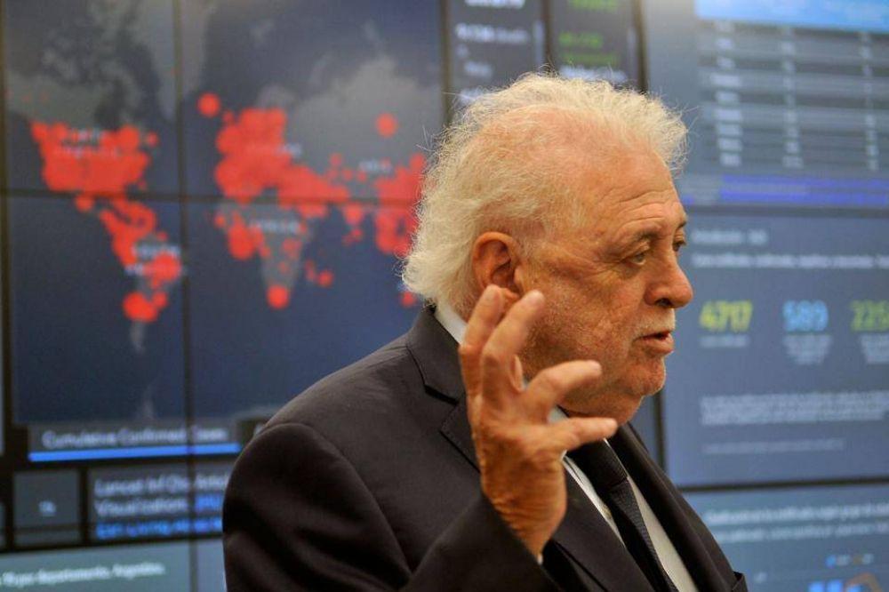 Coronavirus: Ginés González García dijo que subió mucho más el número de contagiados que de fallecidos
