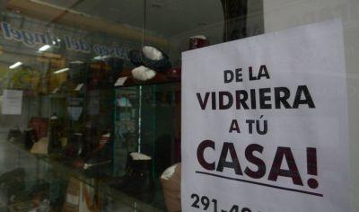 Protocolo con algunos cambios, la salida para los comercios de ropa y calzado