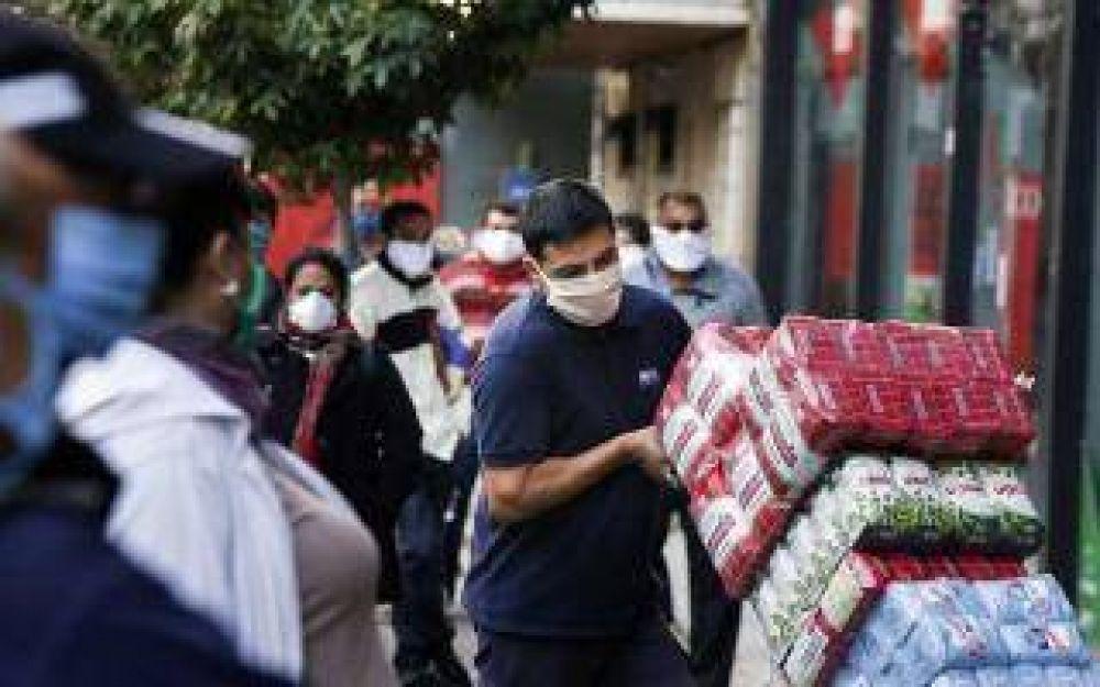 Coronavirus: Otra jornada con nuevos casos en Merlo, que llegó a los 320 infectados totales