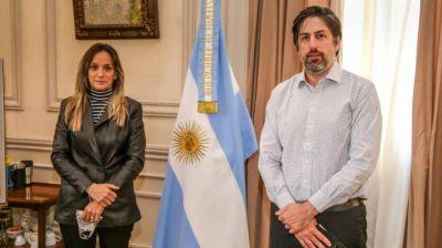 Galmarini se reunió con Trotta para darle continuidad a la creación del Instituto del Agua