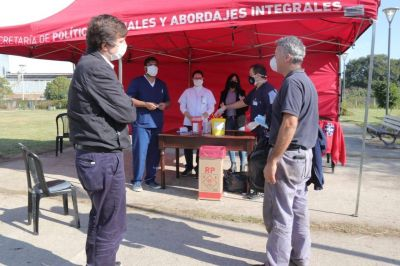 El Municipio de Morón realizó una nueva jornada de vacunación antigripal