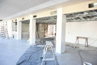 Aseguran que para finales de junio estará finalizada la nueva guardia del Hospital de Moreno