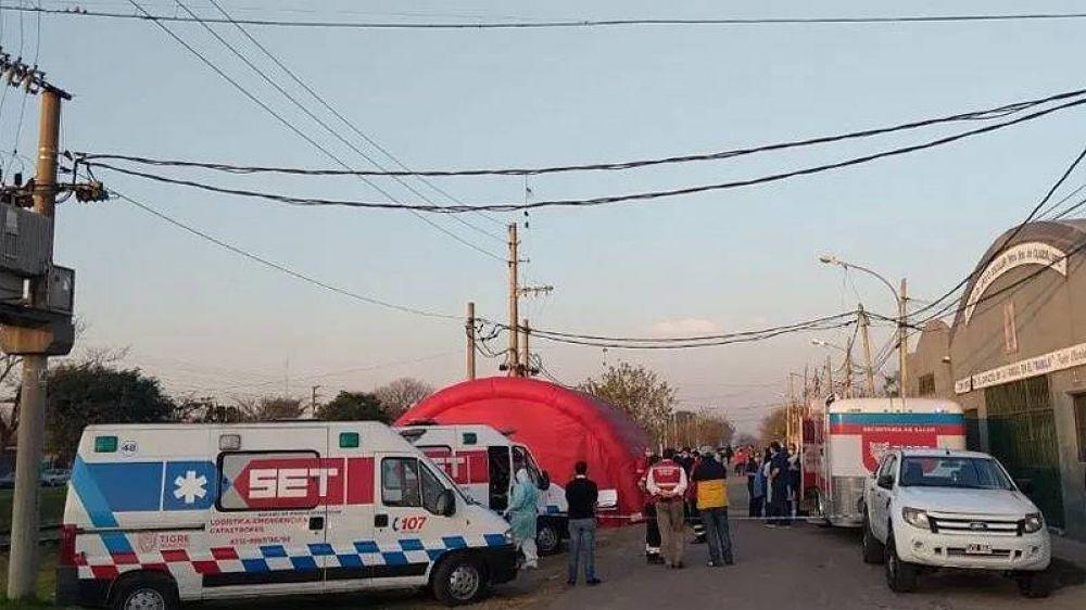 Brote masivo de casos de coronavirus en un barrio popular de Tigre