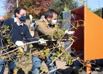 Jornada ambiental por Escobar: recolección de materiales reciclables, ramas y residuos electrónicos
