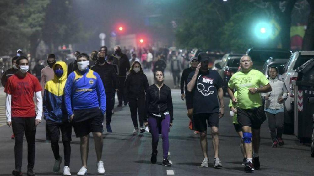 Larreta habilita las avenidas para que no se amontonen los runners en Palermo